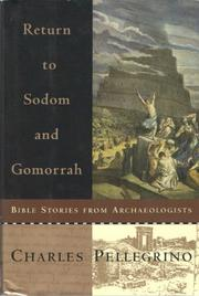 RETURN TO SODOM AND GOMORRAH by Charles Pellegrino