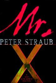 MR. X by Peter Straub