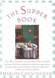 THE SUPPER BOOK by Marion Cunningham