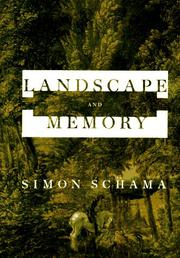 Book Cover for LANDSCAPE AND MEMORY