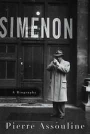SIMENON by Pierre Assouline