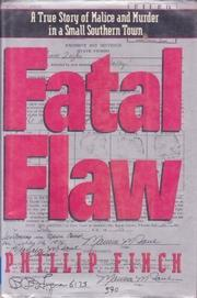 FATAL FLAW by Phillip Finch