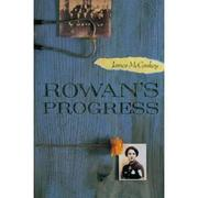 ROWAN'S PROGRESS by James McConkey