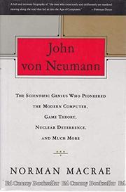 JOHN VON NEUMANN by Norman Macrae