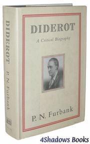 DIDEROT by P.N. Furbank