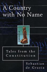 A COUNTRY WITH NO NAME by Sebastian de Grazia
