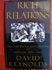 RICH RELATIONS by David Reynolds