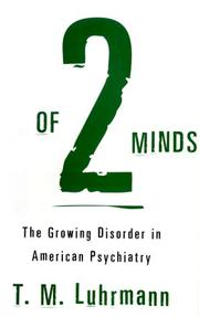 Book Cover for OF TWO MINDS