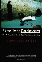 Cover art for EXCELLENT CADAVERS