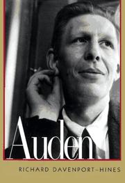 AUDEN by Richard Davenport-Hines