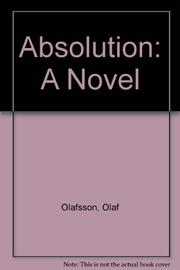 ABSOLUTION by Olaf Olafsson
