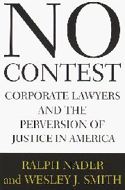 NO CONTEST by Ralph Nader