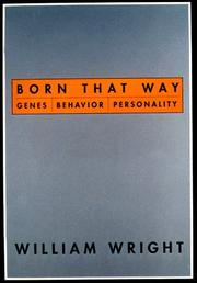 BORN THAT WAY by William Wright