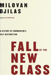 FALL OF THE NEW CLASS by Milovan Djilas