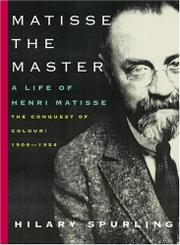 Cover art for MATISSE THE MASTER