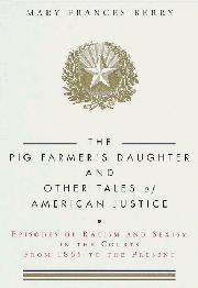 Cover art for THE PIG FARMER'S DAUGHTER AND OTHER TALES OF AMERICAN JUSTICE