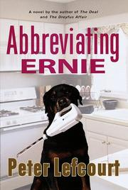 ABBREVIATING ERNIE by Peter Lefcourt