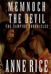 MEMNOCH THE DEVIL by Anne Rice