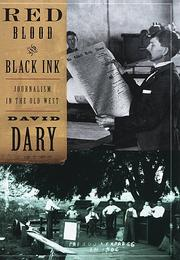 RED BLOOD AND BLACK INK by David Dary