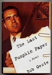 THE LAST PUMPKIN PAPER by Bob Oeste