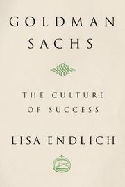 GOLDMAN SACHS by Lisa Endlich