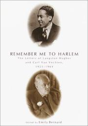 REMEMBER ME TO HARLEM by Emily Bernard