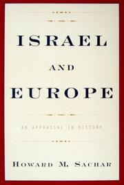 Cover art for ISRAEL AND EUROPE