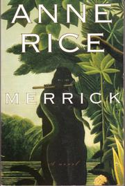 Cover art for MERRICK