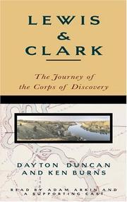 LEWIS & CLARK by Dayton Duncan