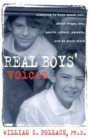 REAL BOYS' VOICES by William S. Pollack