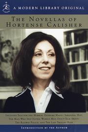THE NOVELLAS OF HORTENSE CALISHER by Hortense Calisher
