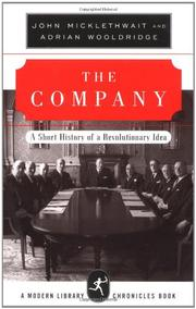 THE COMPANY by John Micklethwait