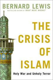 Cover art for THE CRISIS OF ISLAM
