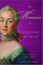 THE MEMOIRS OF CATHERINE THE GREAT by Mark Cruse