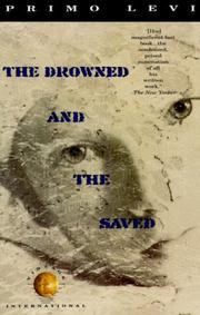 THE DROWNED AND THE SAVED by Primo Levi