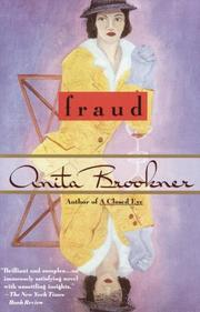FRAUD by Anita Brookner
