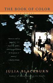 THE BOOK OF COLOR by Julia Blackburn