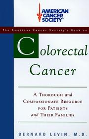 COLORECTAL CANCER by M.D. Levin