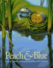PEACH AND BLUE by Sarah S. Kilborne