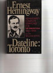DATELINE by Ernest Hemingway