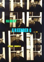 CLEMENT GREENBERG by Florence Rubenfeld