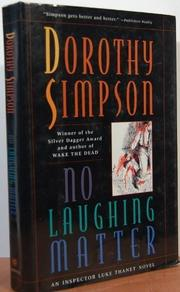 NO LAUGHING MATTER by Dorothy Simpson