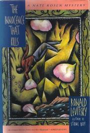 THE INNOCENCE THAT KILLS by Ronald Levitsky