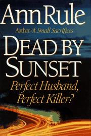 Book Cover for DEAD BY SUNSET