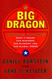 BIG DRAGON by Daniel Burstein