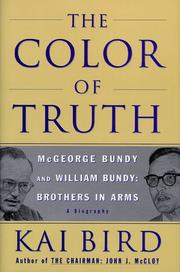 THE COLOR OF TRUTH by Kai Bird