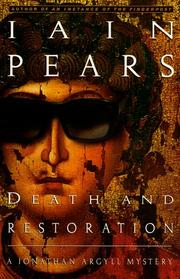 Cover art for DEATH AND RESTORATION