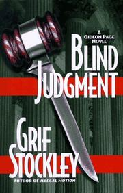 BLIND JUSTICE by Grif Stockley