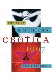 THE BEST AMERICAN EROTICA 1997 by Susie--Ed. Bright