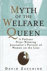 THE MYTH OF THE WELFARE QUEEN by David Zucchino